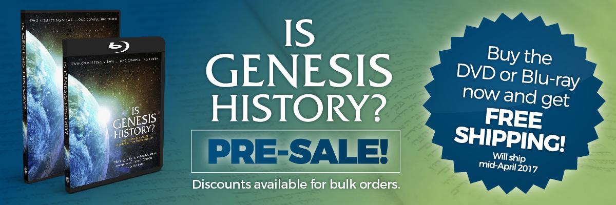 Is Genesis History Pre-Sale